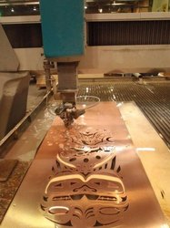 Industrial Copper Water Jet Cutting Services