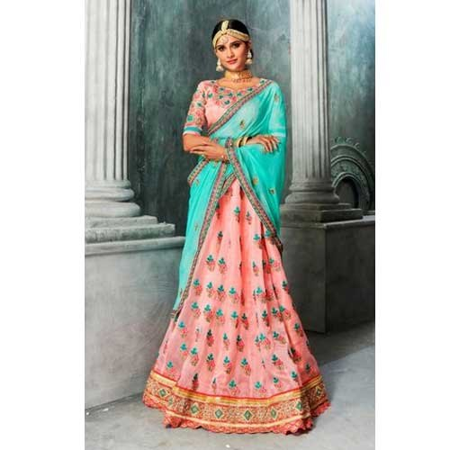977a9aa97f Semi-Stitched Ladies Fancy Party Wear Lehenga Choli, Packaging Type: Packet