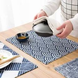 Fused Table Mat Printed Home Decor
