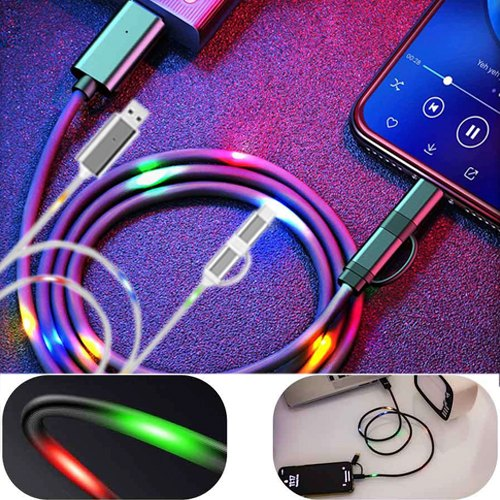 Snap - 3 in 1 Fast Charging Cable