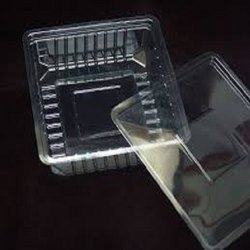 Plastic Rectangle Sweet Boxes