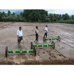 Man Power Rice Seeder