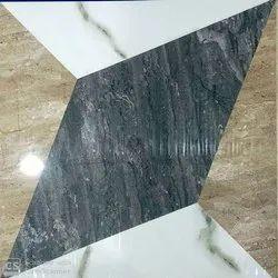 White 16mm Marble Floor Tiles, For Flooring, Thickness: 16 mm
