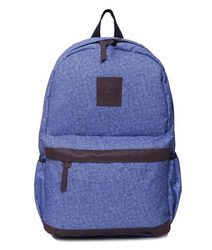 Blue And Purple Free Size Backpack