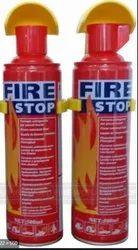 500 Ml Foam Red Fire Stop