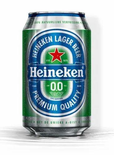 .Heineken 0.0% Non-Alcoholic Beer