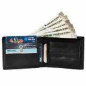 LWFM00125 Black Mens Leather Wallet