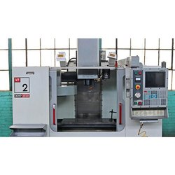 220 V Mild Steel Teczhar CNC Vertical Milling Machine, For Industrial, Column & Knee