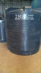 Impact Water Tank 5000 LITERS BLACK COLOUR DOUBLE LAYER.