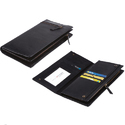 Leatherite Chain Passport Holder