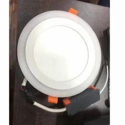 Round Panel Dual Color Light