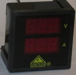 Unitech Abs Volt Ampere Meter, 72VADD, for Laboratory
