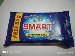 Lemon Smart Shrimati Detergent cake, Shape: Square, Packaging Size: Kg
