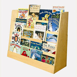 3-4 Feet Brown Book Display Rack, For Shops