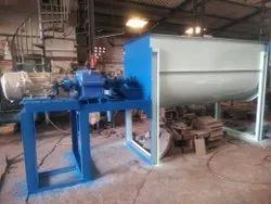 Mild Steel Single Shaft Ribbon Mixer Machines