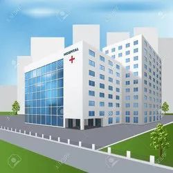 Concrete Frame Structures Hospital Building Construction Services, Waterproofing System