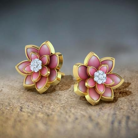 Lotus Blossom Earrings At Rs 21638 Piece फशन इयररग