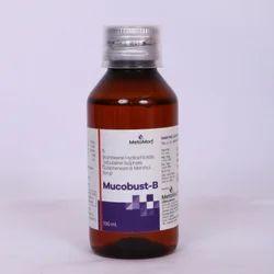 Bromhexine Terbutaline Sulphate Guaiphenesin  Menthol 1mg
