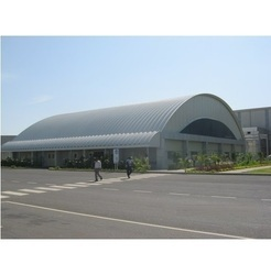 Wood And PVC Prefabricated Canteen For Staff