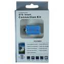Blue Otg Smart Usb Connection Kit