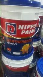 High Gloss Latex Based Nippon Paints, for Exterior, Packaging Type: Bucket