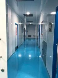 Clean Room Modular Panel with Door Systems