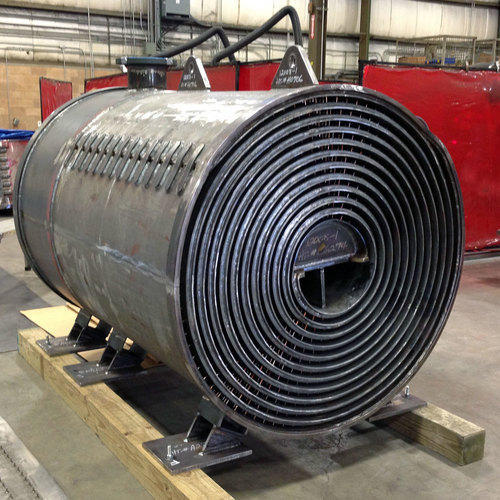 Spiral Heat Exchanger, For Hydraulic And Industrial