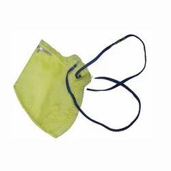 Yellow Cotton Dust Mask