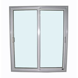 Designer 3 Feet Aluminium Sliding Window
