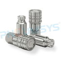 Flat-Face Stainless Steel Couplings