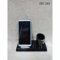 Black Plastic Mobile Holder