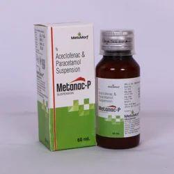 Aceclofenac 50mg  Paracetamol 125mg Syrup