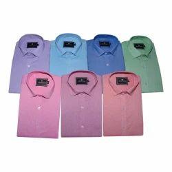 Plain Mens Cotton Shirts