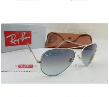 RB 3026 Ray Ban Aviator Blue Gradient Silver - Eyeglasso.in, Mumbai ... ba8dc8ca71