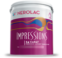Impressions24 Carat Nerolac Emulsion Paints