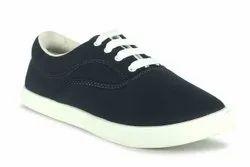 C 1 black Canvas Shoes
