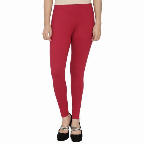 9021213c0b10a Red Nylon Ankle Length Leggings, Rs 149 /piece, Amani Creation | ID ...