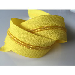 Ziptex Yellow CFC Zipper No-5