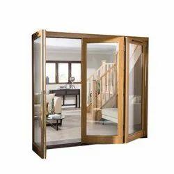 Mocha Brown Rectangular WPC Interior Window Frame