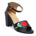 Embro Black Heels