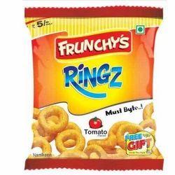 Frunchys Tomato Ringz, Packaging Size: 18g