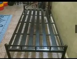 Metal Bed or Single Cot Powder Coated