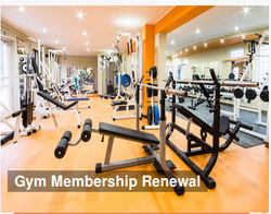 Gym Membership Renewal