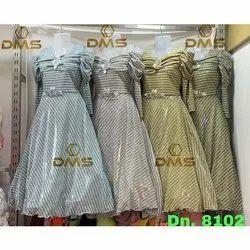 Party Wear Kids Designer Indo Western Gown, 16-38
