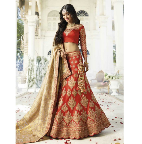 4b37341435 Designer Embroidered Wedding Lehenga, Rs 25000 /piece, Jagmohan ...