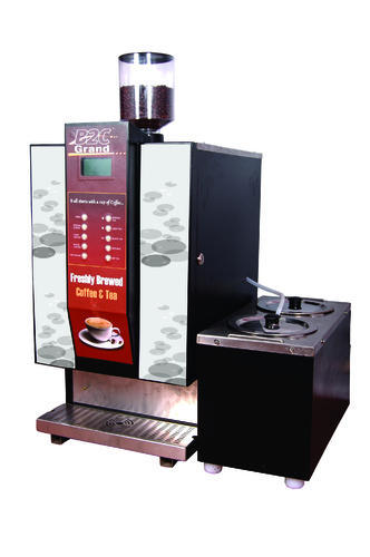 Fresh Milk Live Bean Coffee Vending Machines