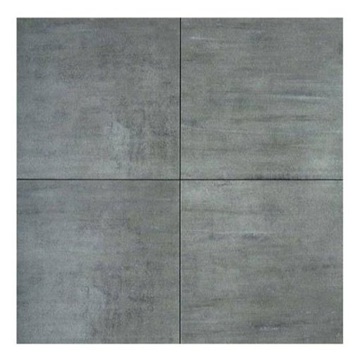 Grey Square Ceramic Floor Tiles, Size: 2x2 Feet, Thickness: 3-4 mm
