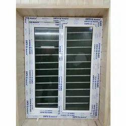 White Modern UPVC Casement Window