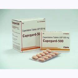 Capegard 500mg Tablets, Cipla, Prescription
