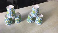White Glass 210 ML PAPER CUP, For Event and Party Supplies